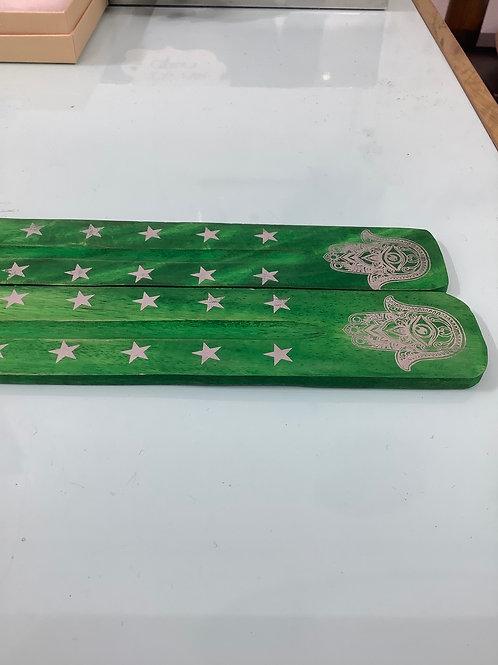Green Incense Holder Burner