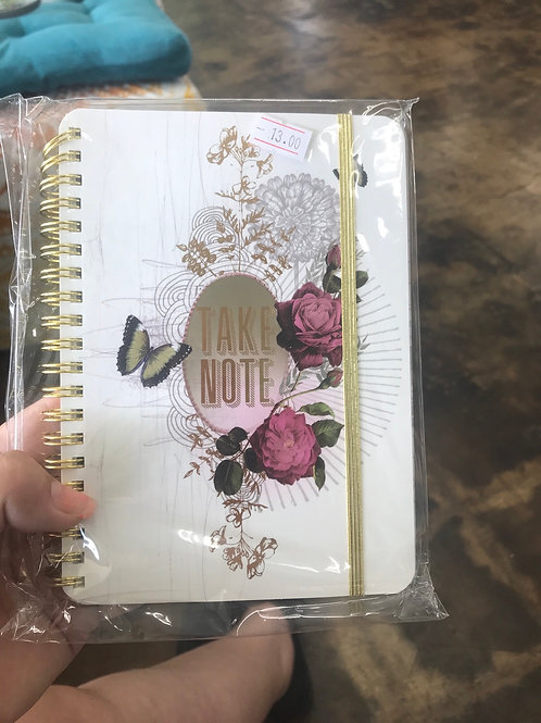 Papaya Art take note spiral notebook