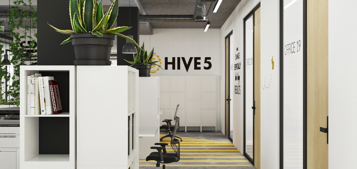 HIVE5 coworking in Brussels
