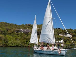 Sailing - Whakamoenga Point Taupo