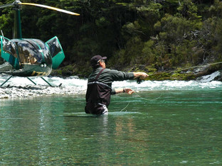 Heli-Fishing - Back Country River