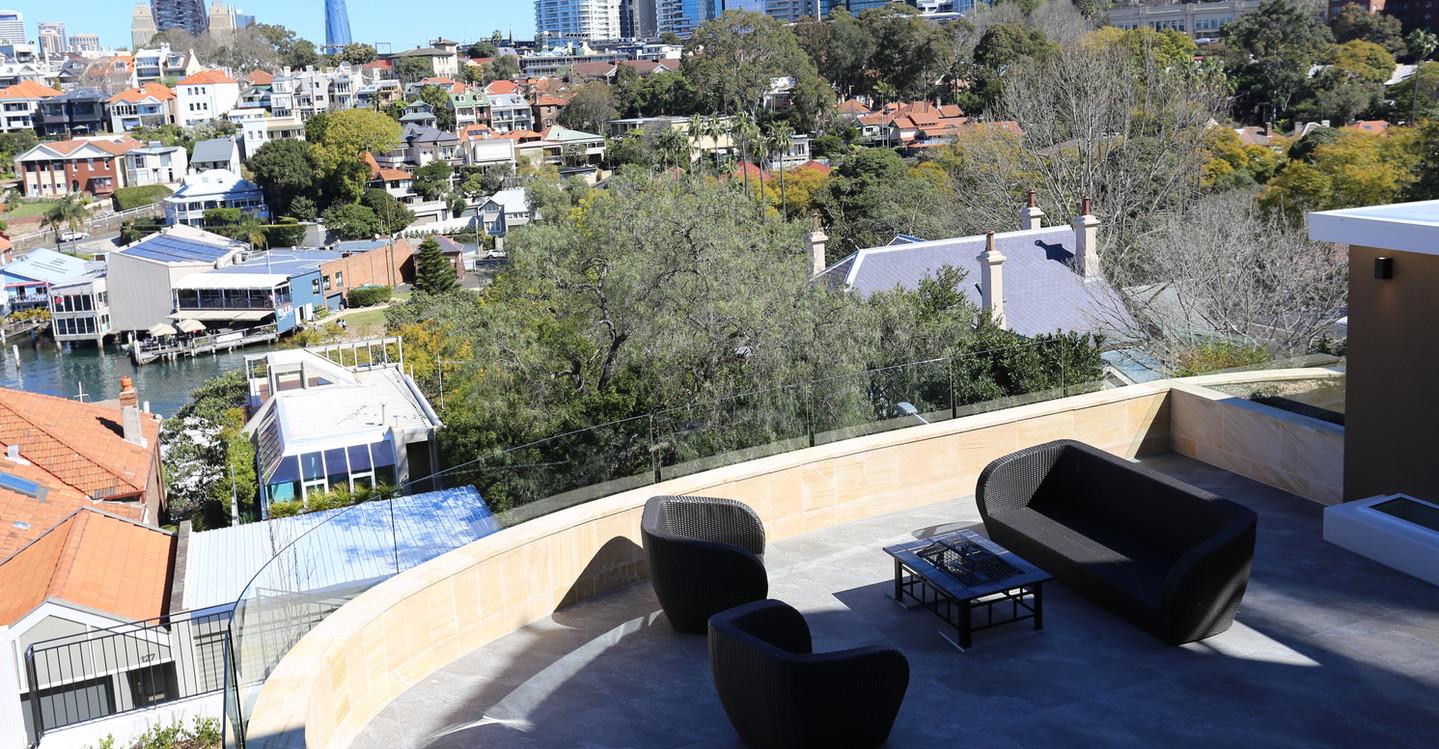 North Sydney upper terrace