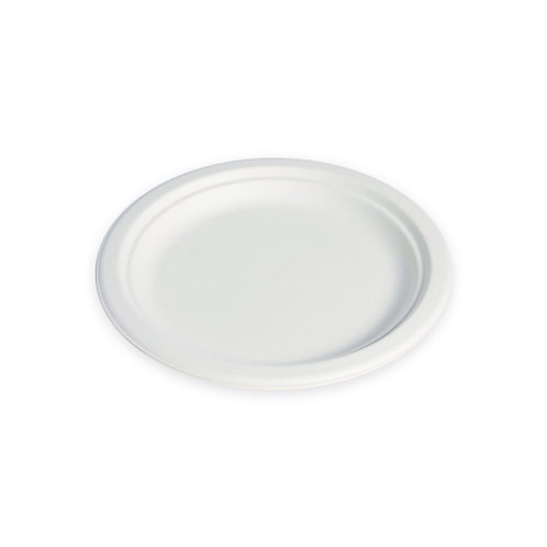 "8.75"" Round Sugarcane Plate"