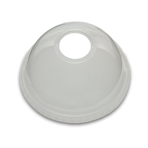 Compostable Dome Lid for 9,12,16,20 and 24oz PLA  Cold Cups