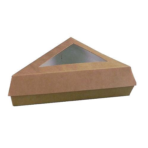 Kraft Collection - Kraft Slice Box with Window 12oz