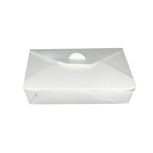 White Takeout Collection - White Meal Box 36oz