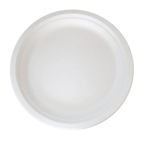 "10"" Round Sugarcane Plate"