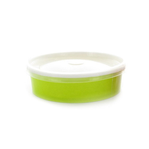 Buckaty Collection - 16oz Round Green To Go Container