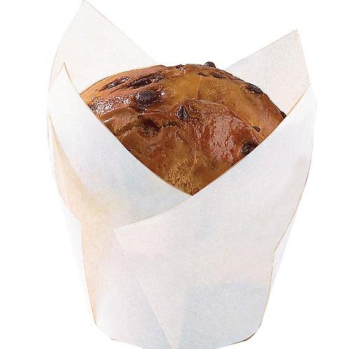 Baking Cup - White Silicone 4oz