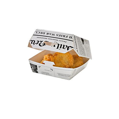 Grab & Go Mini Slider Box - Newspaper Print