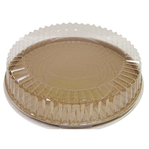 """3.5"""" Ribbed OPS Lid fits the 18"""" Round Catering Trays"""