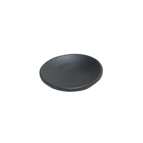 """"""" RAJA"""" Round Black Bamboo Mini Dish"""