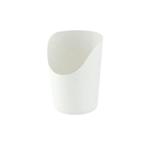 White Kraft Wrap Cup - 6oz