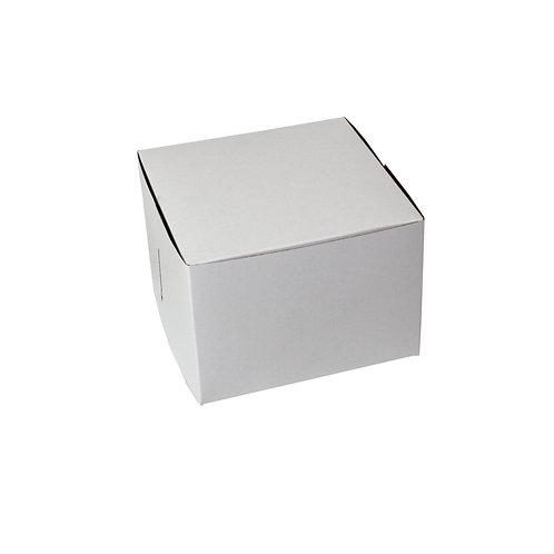White Bakery Box 7x7x5