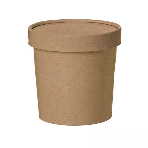 Brown Kraft Soup Cup - 16oz