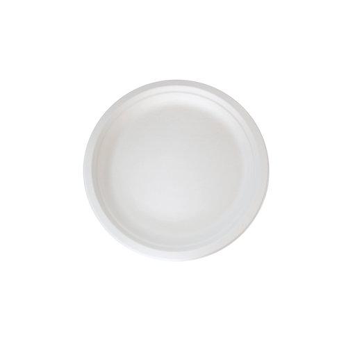 "6"" Round Sugarcane Plate"