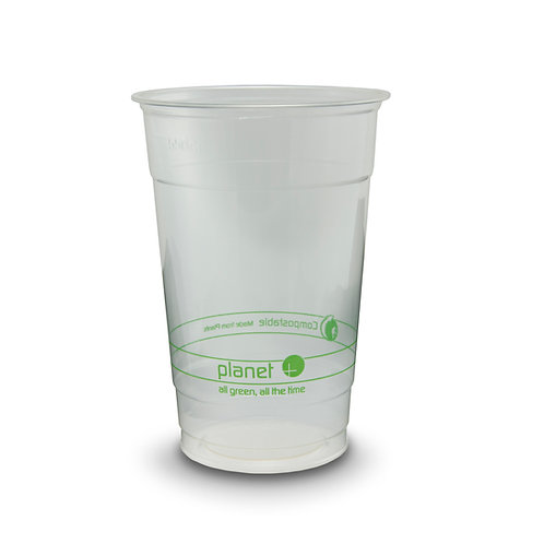 Compostable PLA 20oz Clear Cup