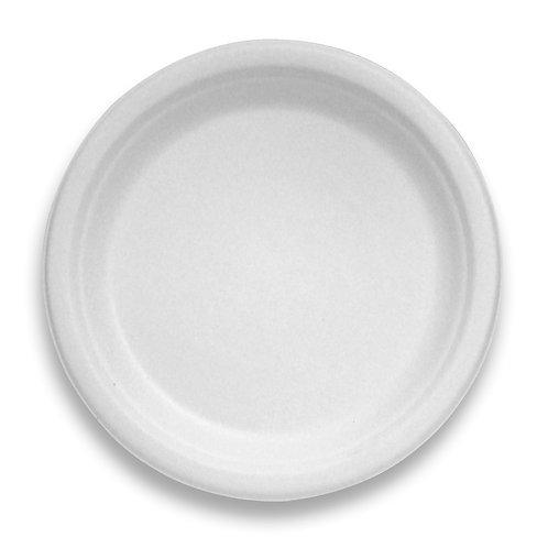 "Sugarcane Fiber 9"" Plate Tableware"