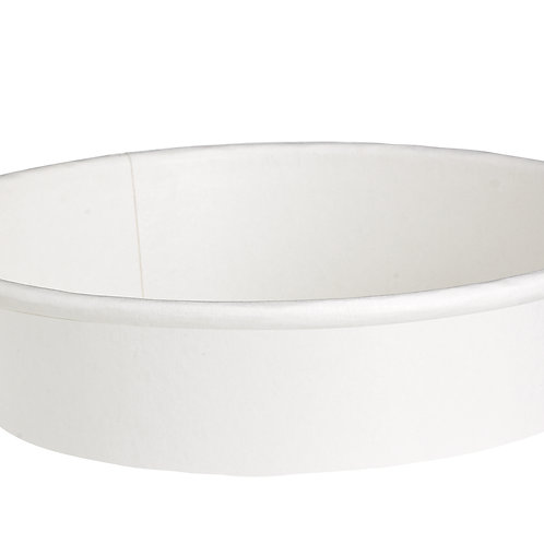 Buckaty Collection - 16oz White Round To-Go Container