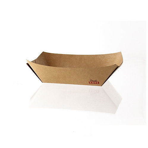Street Eat Collection- 1 lb. Multi-Use Kraft Paper Boat