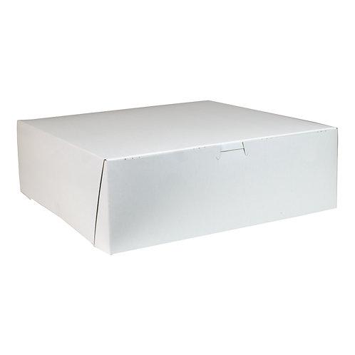 White Bakery Box 12x12x4