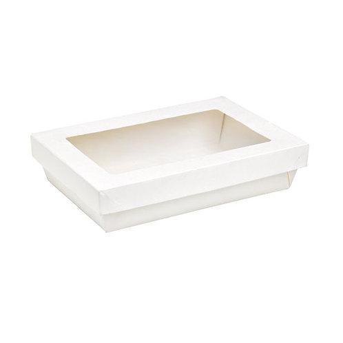 "White Kray Collection - Rectangular Kray Box 8.9 x 6.1 x 2"""