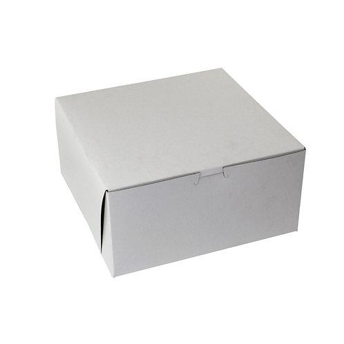 White Bakery Box 10x10x5
