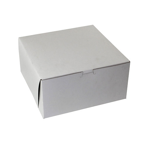 White Bakery Box 12x12x5