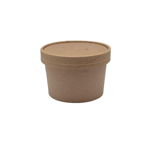 Brown Kraft Soup Cup - 8oz