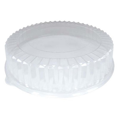 """3.5"""" Ribbled OPS Lid Fits 16"""" Catering Trays"""