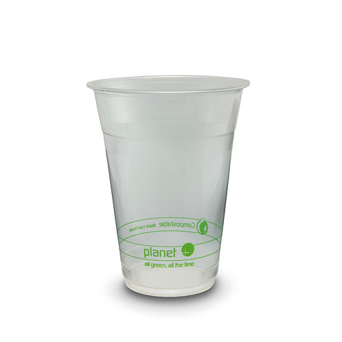 Compostable PLA 16oz Clear Cup