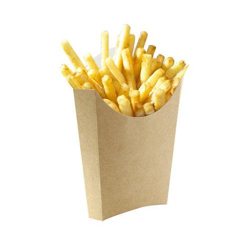 Large Kraft French Fry Pails