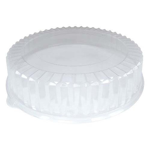 """3.5"""" Ribbed OPS Catering Lid Fits 12"""" Catering Tray"""