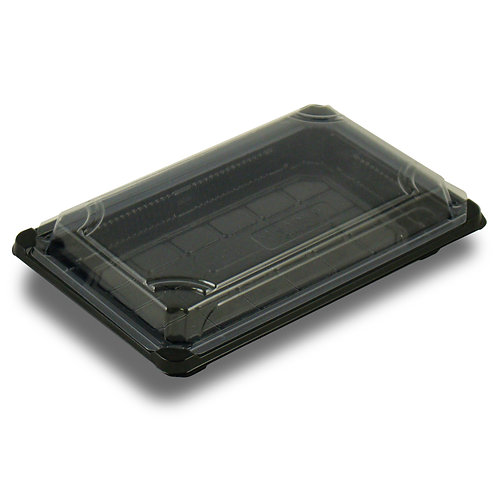 """PLA Sushi Tray with Lid ( 8.875 x 5.75 x 1.75"""")"""