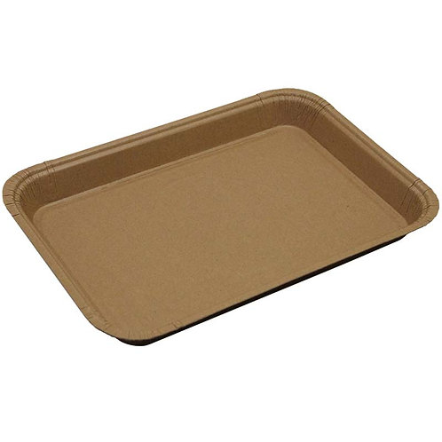 Quarter Sheet Trays - Release Coat Solid Brown