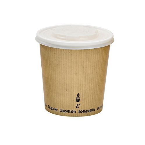 Green-zy Biodegradable Soup Cups - 24oz