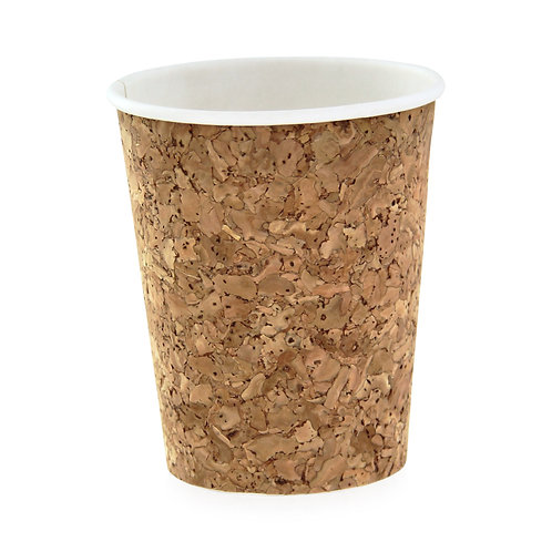 Hot Cup - 8oz Insulated Corked Coffee Cup