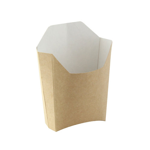 Small Kraft French Fry Pails