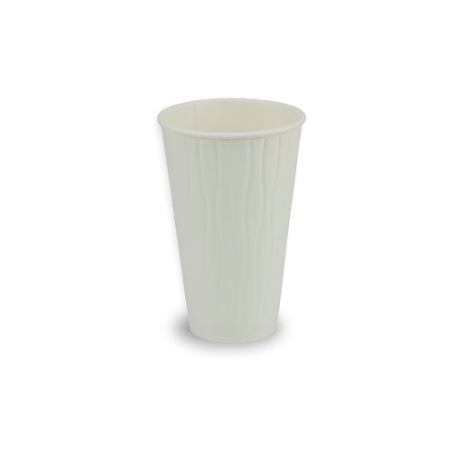 PE Coated Double Wall 16oz Hot Paper Cup