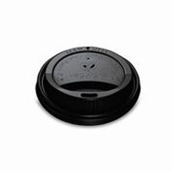 79-Series CPLA Hot Cup Lid Black