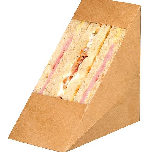 Kraft Triple Sandwich Box Window