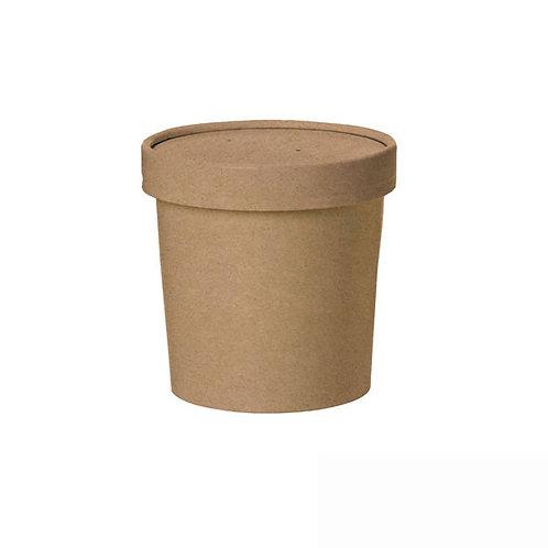 Brown Kraft Soup Cup - 12oz
