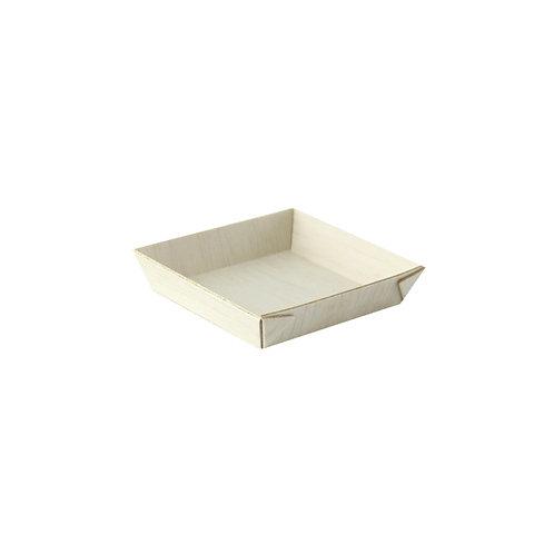 Wood Minis Collection - Mini Square Samurai Wooden Tray
