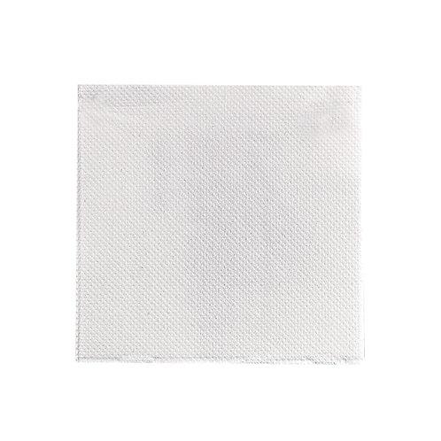 """Point To Point White Napkin 15 x 15"""" - 2 ply - 1/4 Fold"""