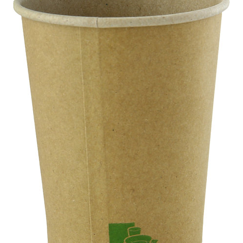 Hot Cup - 10oz Natural Kraft Zen Collection Cup