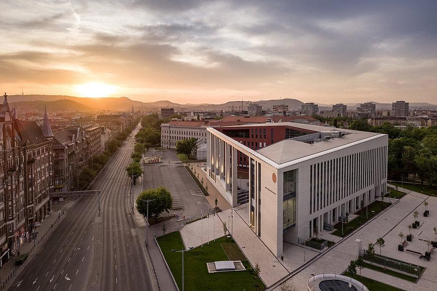 Építészeti fotópályázat első helyezett fotó - Ludovika Campus, NKE, 2018, KKBK