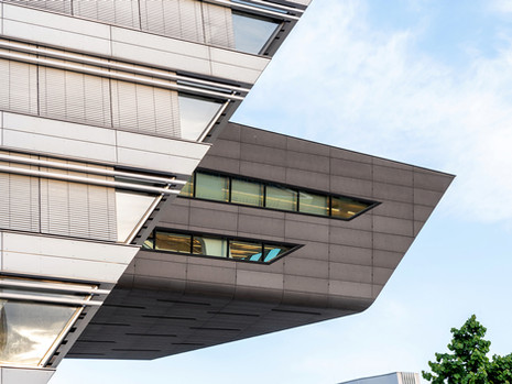 WU, Wien, Austria - Zaha Hadid Architects