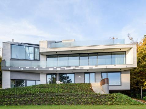 Modern Villa interior near to Budapest