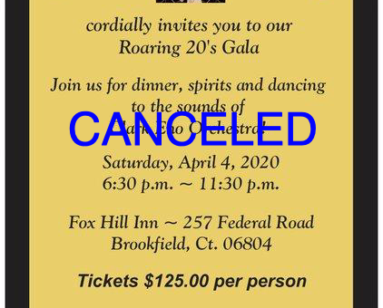 Roaring 20's Gala CANCELED