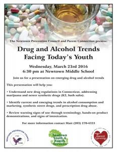 Final drug trends flyer